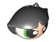 Part No: 31512c01pb01  Name: Minifigure, Head Modified Buttercup