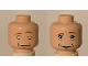 Part No: 3626bpb0229  Name: Minifigure, Head Dual Sided HP Ron with Awake / Asleep Pattern - Blocked Open Stud
