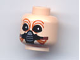 Part No: 3626bpb0250  Name: Minifigure, Head Alien with SW Ten Numb Pattern - Blocked Open Stud