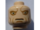 Part No: 3626bpb0551  Name: Minifigure, Head Alien with SW Saesee Tiin, Large Eyes and Cheek Lines Pattern - Blocked Open Stud