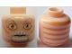Part No: 3626bpb0622  Name: Minifigure, Head Alien with SW Ki-Adi-Mundi Pattern - Blocked Open Stud