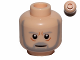 Part No: 3626cpb0407  Name: Minifigure, Head Beard with SW Gray Beard and Eyebrows, Lines under Eyes, Furrowed Brow, White Pupils Pattern - Hollow Stud