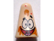Part No: 54873pb04  Name: Minifigure, Head Modified Patrick with Ice Cream Splotches Pattern