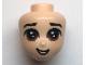 Part No: 66488  Name: Mini Doll, Head Friends with Brown Large Eyes, and Open Mouth Pattern (Li Shang)
