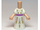 Part No: 66566  Name: Micro Doll, Body with White Dress Pattern (Anna)