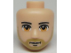 Part No: 93772  Name: Mini Doll, Head Friends Male Large with Light Brown Eyes, Light Brown Beard and Closed Mouth Pattern