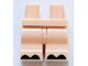 Part No: 970cm00pb008  Name: Hips and Medium Legs with Black Hooves Pattern