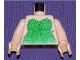 Part No: 973pb0301c01  Name: Torso Batman Poison Ivy Plant Pattern / Light Flesh Arms / Light Flesh Hands