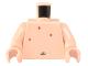 Part No: 973pb0411c01  Name: Torso SpongeBob with Navel & Red Spots Pattern / Light Nougat Arms / Light Nougat Hands