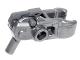 Part No: 22487c01  Name: Minifigure, Weapon Gun, Mini Blaster / Shooter for Bar Arrows with Dark Bluish Gray Trigger (22487 / 15392)