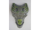 Part No: 24193pb03  Name: Large Figure Torso with Bionicle Lime and Yellow Pattern