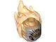 Part No: 26990pb05  Name: Minifigure, Head Modified Alien with Trans-Orange Flaming Hair, Orange Eyes, Sharp Teeth Pattern