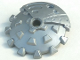 Part No: 45275  Name: Bionicle Weapon 5 x 5 Shield with Saw Blade Studded