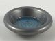 Part No: 6256pb06  Name: Minifigure, Utensil Dish 3 x 3 with Metallic Light Blue Swirl Pattern (HP Pensieve)