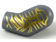 Part No: 981pb192  Name: Arm, Left with Gold Circuitry Pattern