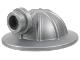 Part No: 98289  Name: Minifigure, Headgear Helmet Mining with Head Lamp