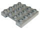 Part No: 98458  Name: Duplo Loading Pallet 4 x 4 Smooth Side