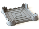 Part No: bb0567  Name: Baseplate, Raised 40 x 40 x 5 Castle Chess Board Base No Studs