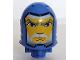 Part No: bb0153pb06  Name: Large Figure Head with King Mathias Pattern - Black Line around Face
