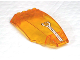 Part No: 45705pb016  Name: Windscreen 10 x 6 x 2 Curved with Instrument Pattern (Sticker)