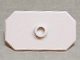 Part No: 48494  Name: Minifigure, Shield Rectangular with Stud