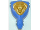 Part No: 53346c01pb01  Name: Large Figure Torso KK with King Mathias Pattern - Series 2 - Lion Head Relief