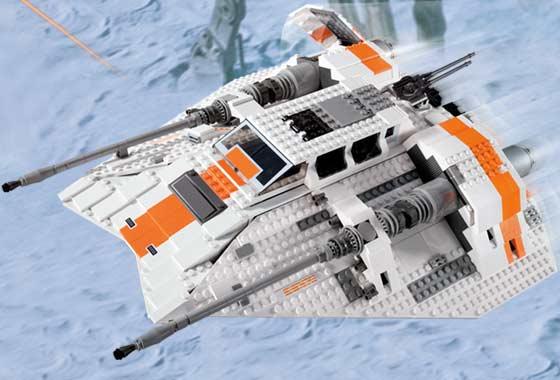 Image result for lego snowspeeder ucs