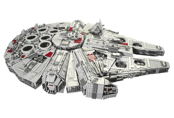 Bricklink Set 10179 1 Lego Millennium Falcon Ucs Star Wars