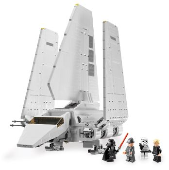 Original Instruction Booklets ONLY LEGO Star Wars 10212 Imperial Shuttle UCS