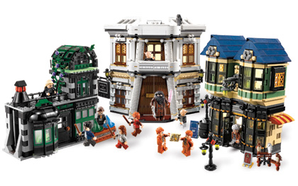 Bricklink Set 10217 1 Lego Diagon Alley Harry Potter Bricklink Reference Catalog