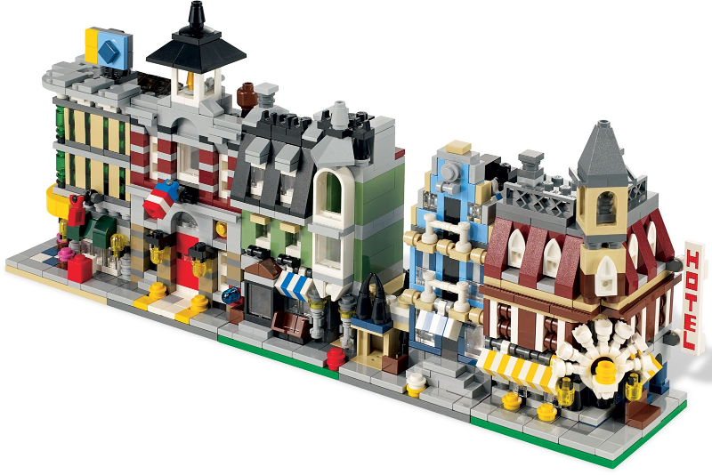 Bricklink Set 10230 1 Lego Mini Modulars Modular Buildings Bricklink Reference Catalog