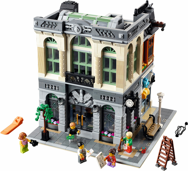 Bricklink Set 10251 1 Lego Brick Bank Modular Buildings Bricklink Reference Catalog
