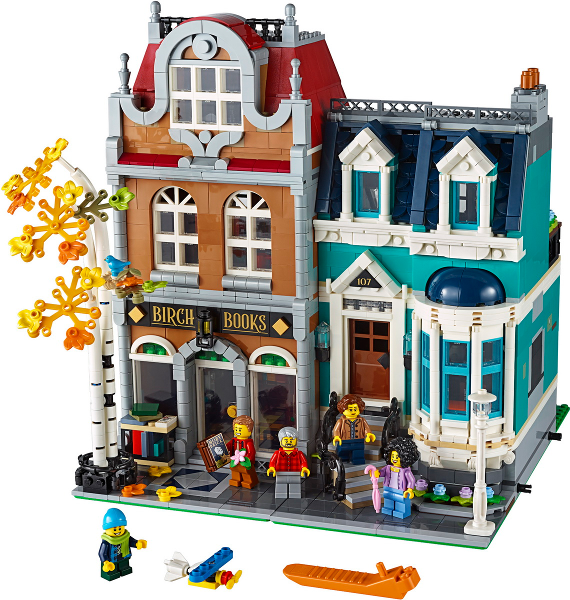 Bricklink Set 10270 1 Lego Bookshop Modular Buildings Bricklink Reference Catalog