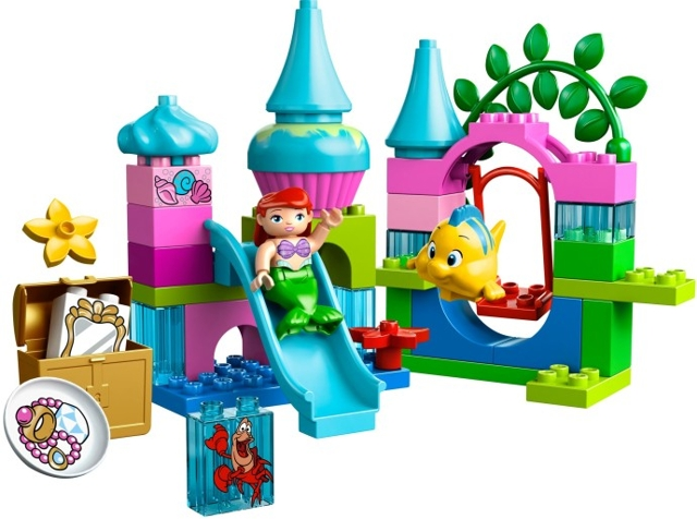 BrickLink - Set 10515-1 : Lego Ariel's Undersea Castle [Duplo:Disney  Princess] - BrickLink Reference Catalog