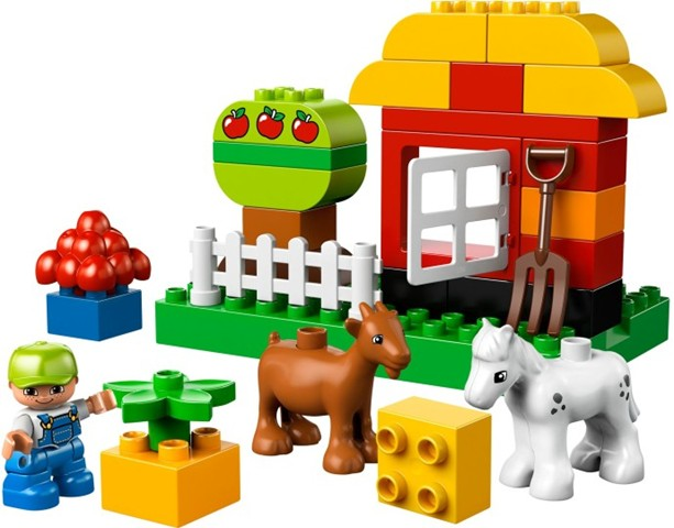 Bricklink Set 10517 1 Lego My First Garden Duploduplo Town