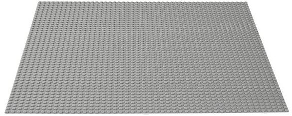LEGO Classic 10701 Gray Baseplate one size