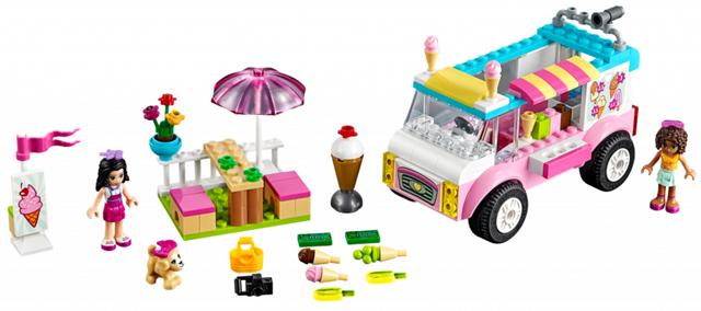 Bricklink Set 10727 1 Lego Emmas Ice Cream Truck Juniors