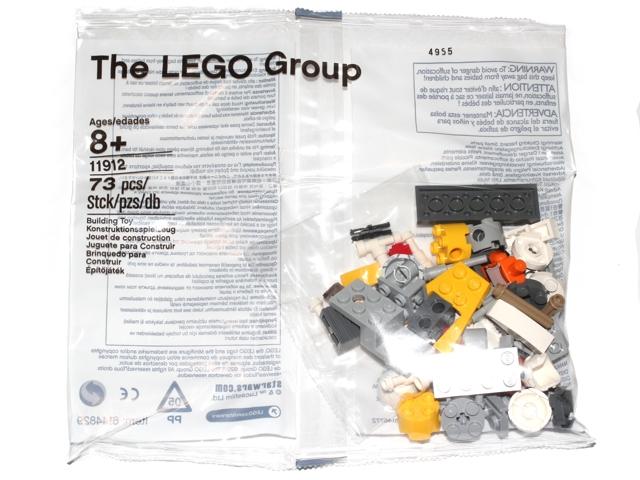 BrickLink - Set 11912-1 : Lego Parts for Star Wars: Build Your Own  Adventure (included in Book 9780241232576) [Star Wars:Star Wars Other] -  BrickLink ...