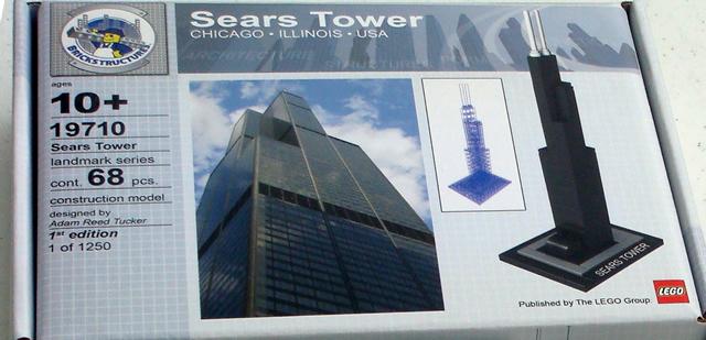 Bricklink Set 19710 1 Lego Sears Tower 1st Edition Architecture
