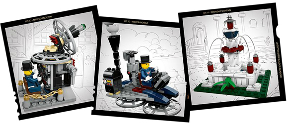 BrickLink - Set 20215-1 : Lego MBA Invention Designer (Kits 10 ...
