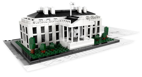 Bricklink Set 21006 1 Lego The White House Architecture