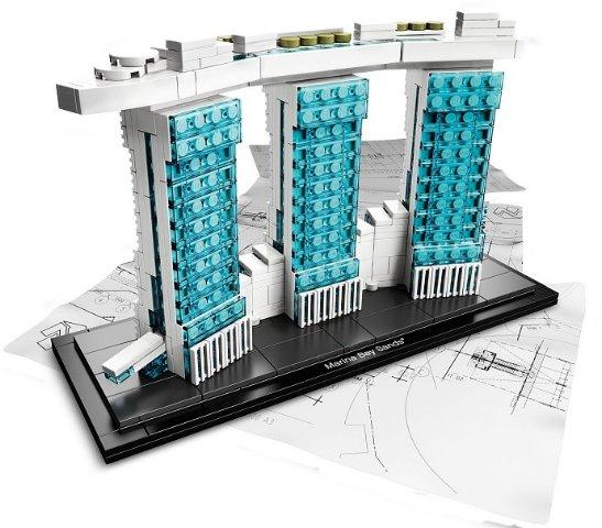 BrickLink - Set 21021-1 : Lego Marina Bay Sands [Architecture ...