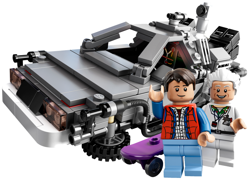 Bricklink Set 21103 1 Lego The Delorean Time Machine Lego Ideas Cuusoo Back To The Future Bricklink Reference Catalog