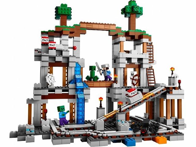 Bricklink Set 21118 1 Lego The Mine Minecraft Bricklink Reference Catalog