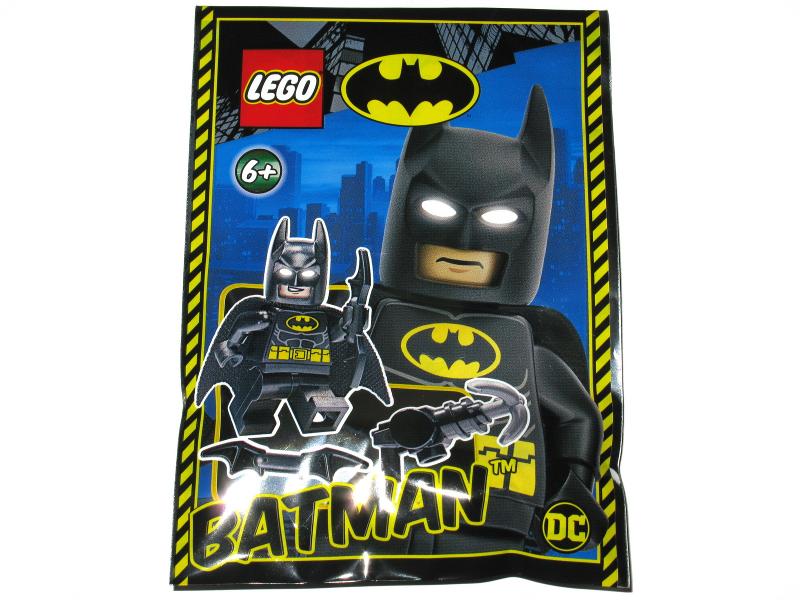 Bagged Foil Set LEGO Super Heroes Batman figure 212010 NEW Factory Sealed