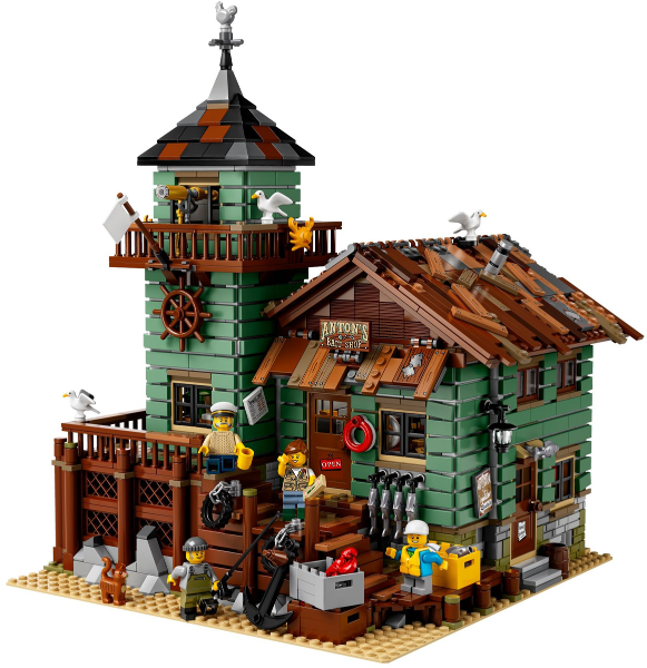 Bricklink Set 21310 1 Lego Old Fishing Store Lego Ideas Cuusoo Bricklink Reference Catalog