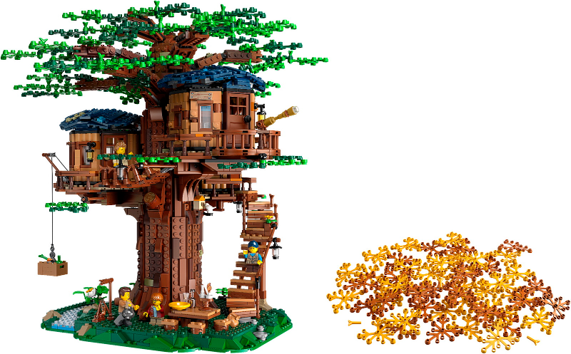 Bricklink Set 21318 1 Lego Tree House Lego Ideas Cuusoo Bricklink Reference Catalog