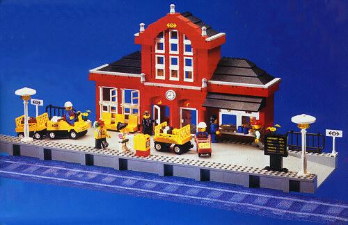 Bricklink Set 2150 1 Lego Train Station Train9v Bricklink