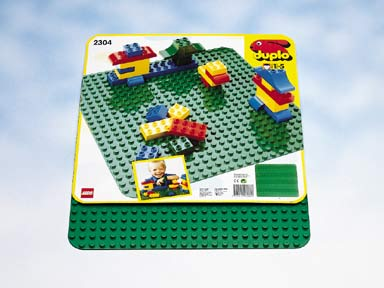 2304 LEGO DUPLO Creative Play Large Green Building Plate