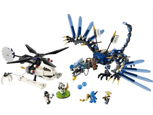 Bricklink Set 2521 1 Lego Lightning Dragon Battle Ninjagothe